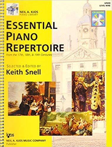 Essential Piano Repertoire - Level Nine
