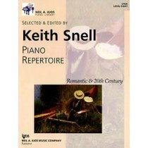Piano Repertoire: Romantic & 20th Century, Level 8