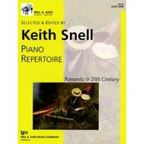 Piano Repertoire: Romantic & 20th Century, Level 9