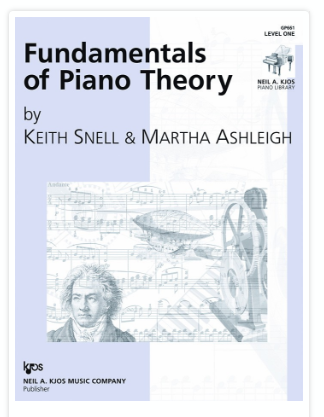Fundamentals of Piano Theory,  Level  1