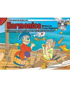 Progressive Harmonica for Young Beginners