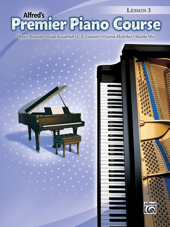 Alfred's Premier Piano Course, Lesson 3