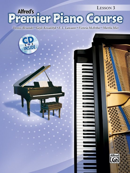 Alfred's Premier Piano Course, Lesson 3 + CD
