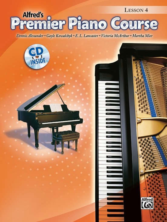 Alfred's Premier Piano Course, Lesson 4 + CD