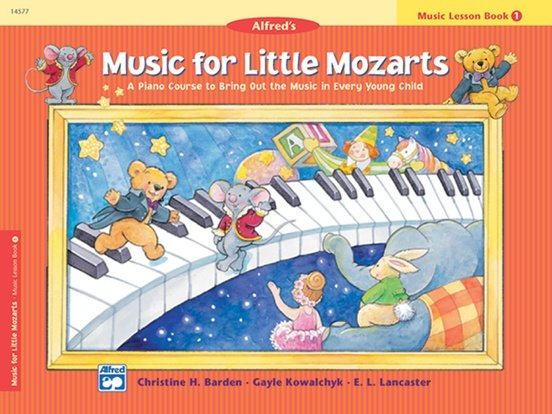 Music for Little Mozarts Lesson Book 1