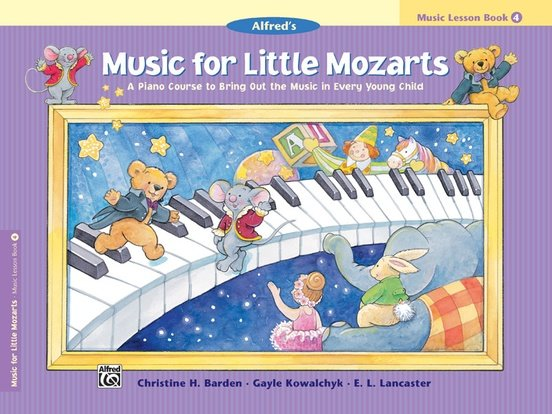 Music for Little Mozarts Lesson Book 4