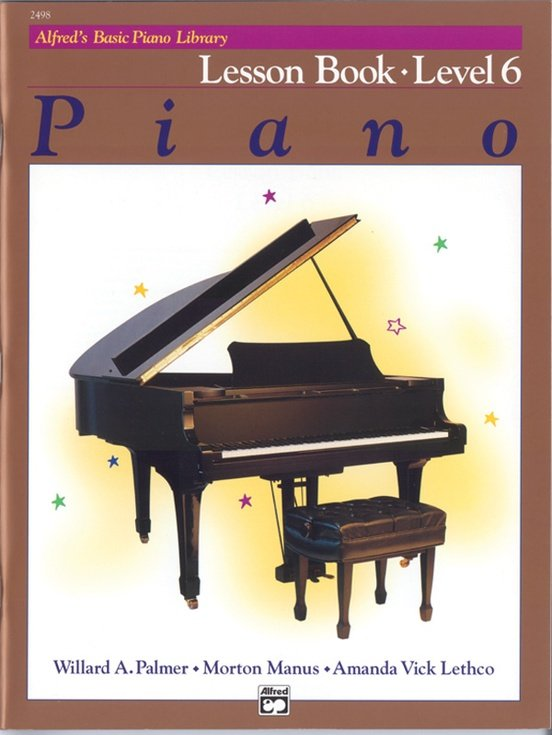 Alfred's Basic Piano Lesson Level 6