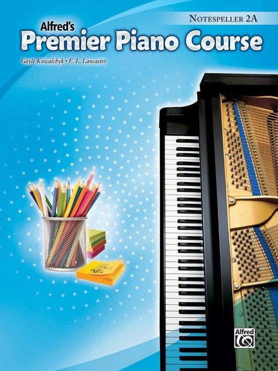 Alfred's Premier Piano Course, Notespeller 2A