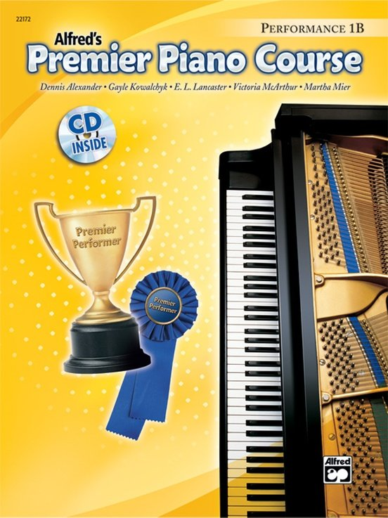 Alfred's Premier Piano Course, Performance 1B + CD