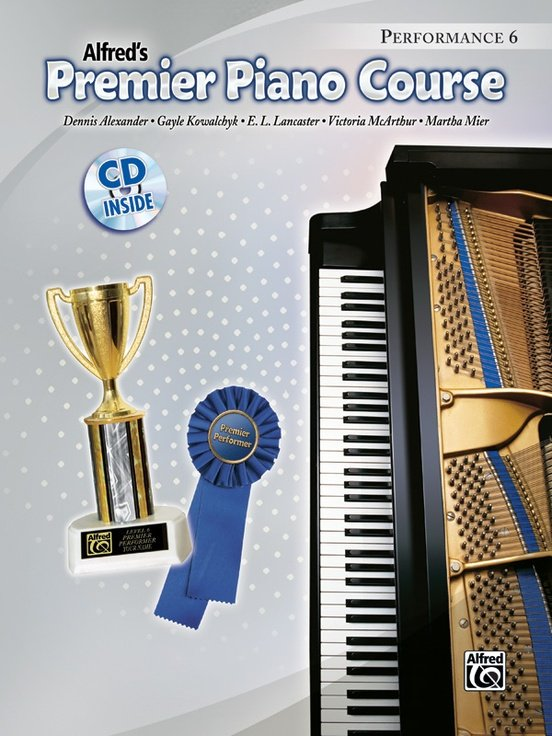 Alfred's Premier Piano Course, Performance 6 + CD