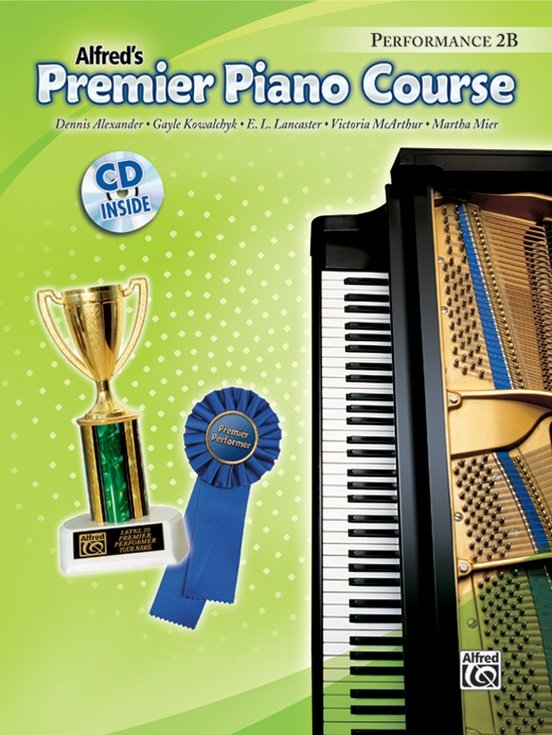 Alfred's Premier Piano Course, Performance 2B + CD