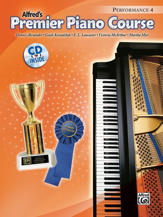 Alfred's Premier Piano Course, Performance 4+CD