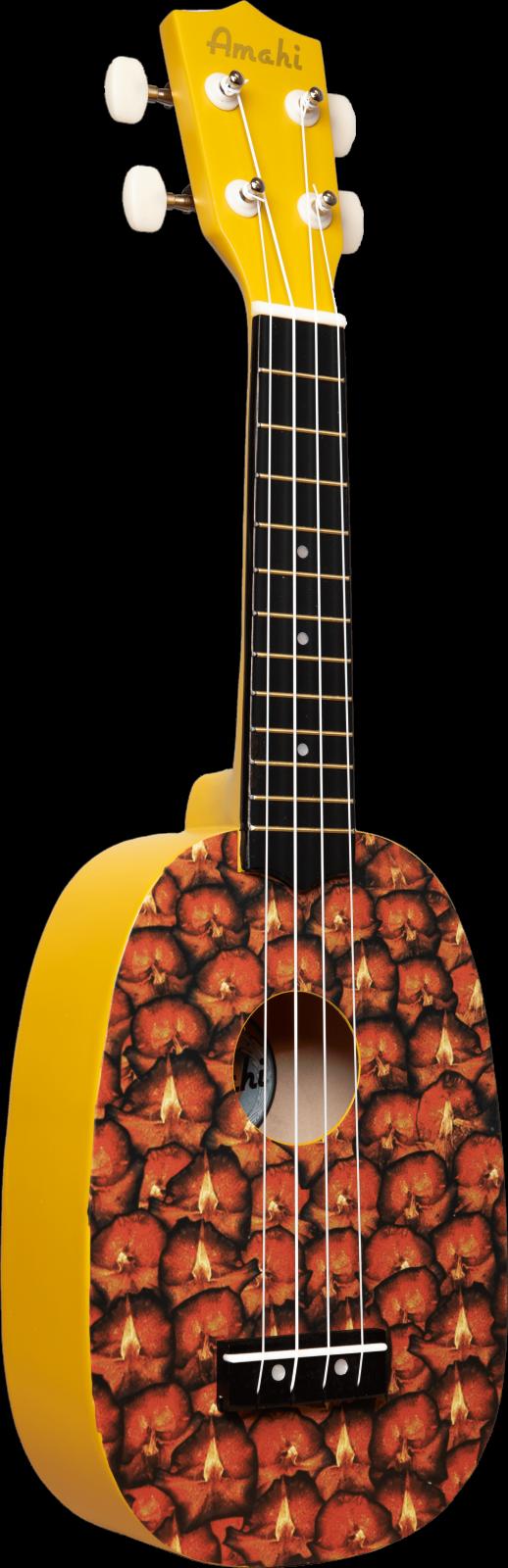 Amahi Pineapple Soprano Ukulele DDUK16