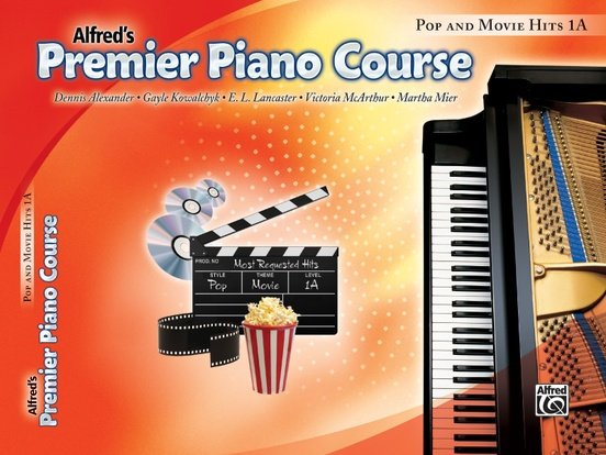 Alfred's Premier Piano Course, Pop and Movie Hits 1A