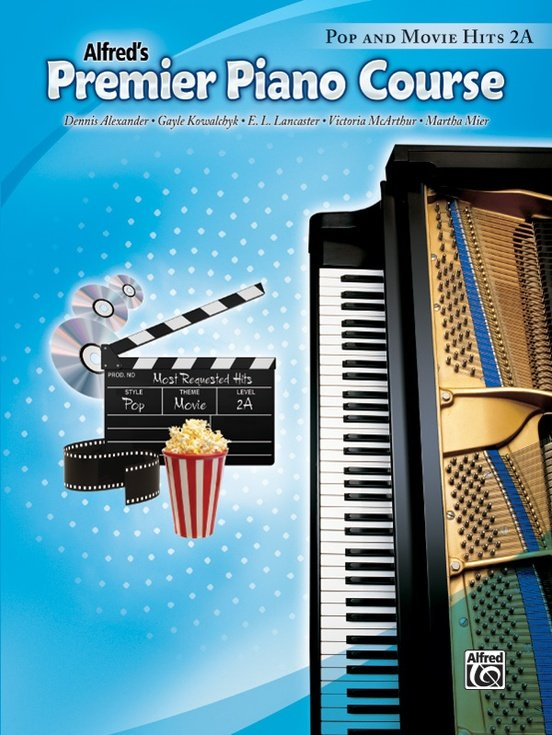 Alfred's Premier Piano Course, Pop and Movie Hits 2A