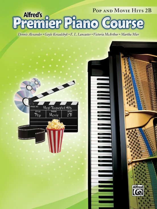 Alfred's Premier Piano Course, Pop and Movie Hits 2B