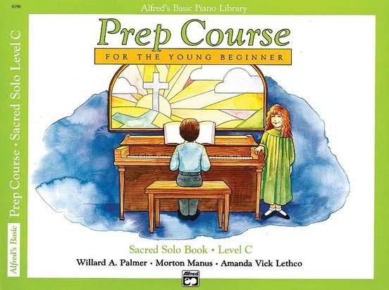 Alfred's Basic Piano Prep Course: Sacred Solo Book C