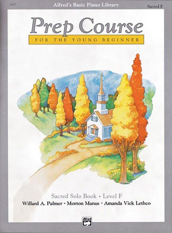 Alfred's Basic Piano Prep Course: Sacred Solo Book F