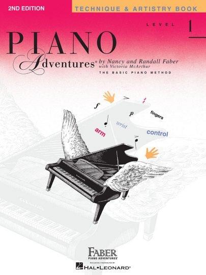 Piano Adventures - Technique & Artistry 1