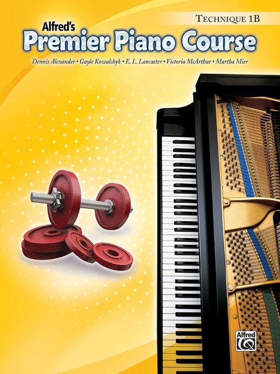 Alfred's Premier Piano Course, Technique 1B