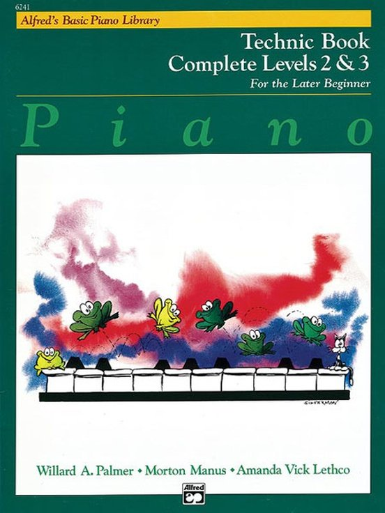 Alfred's Basic Piano Library: Technic Book Complete 2 & 3