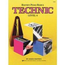 Bastien Piano Basics Technic Level 4 WP219