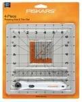 Fiskars Rotating Mat and Trim 4pc Set
