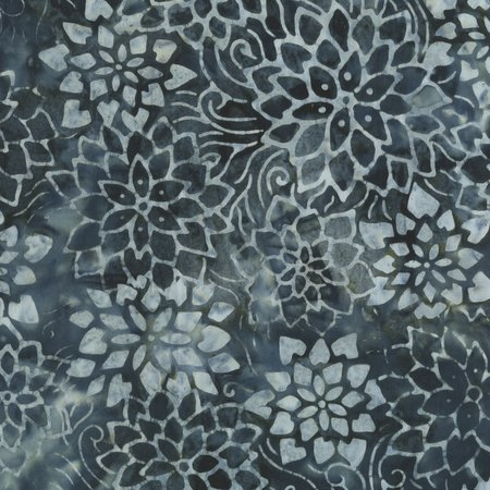 Anthology Flower Stencil 256Q-4 CHARCOAL