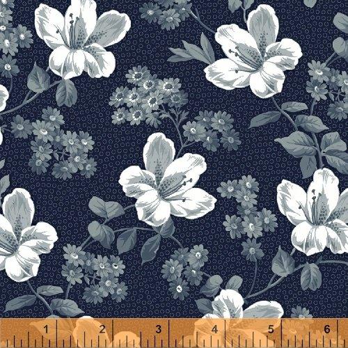 Adele - Tossed Blossom - Navy