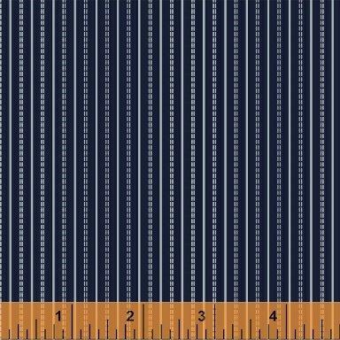 Adele - Ticking Stripe - Navy