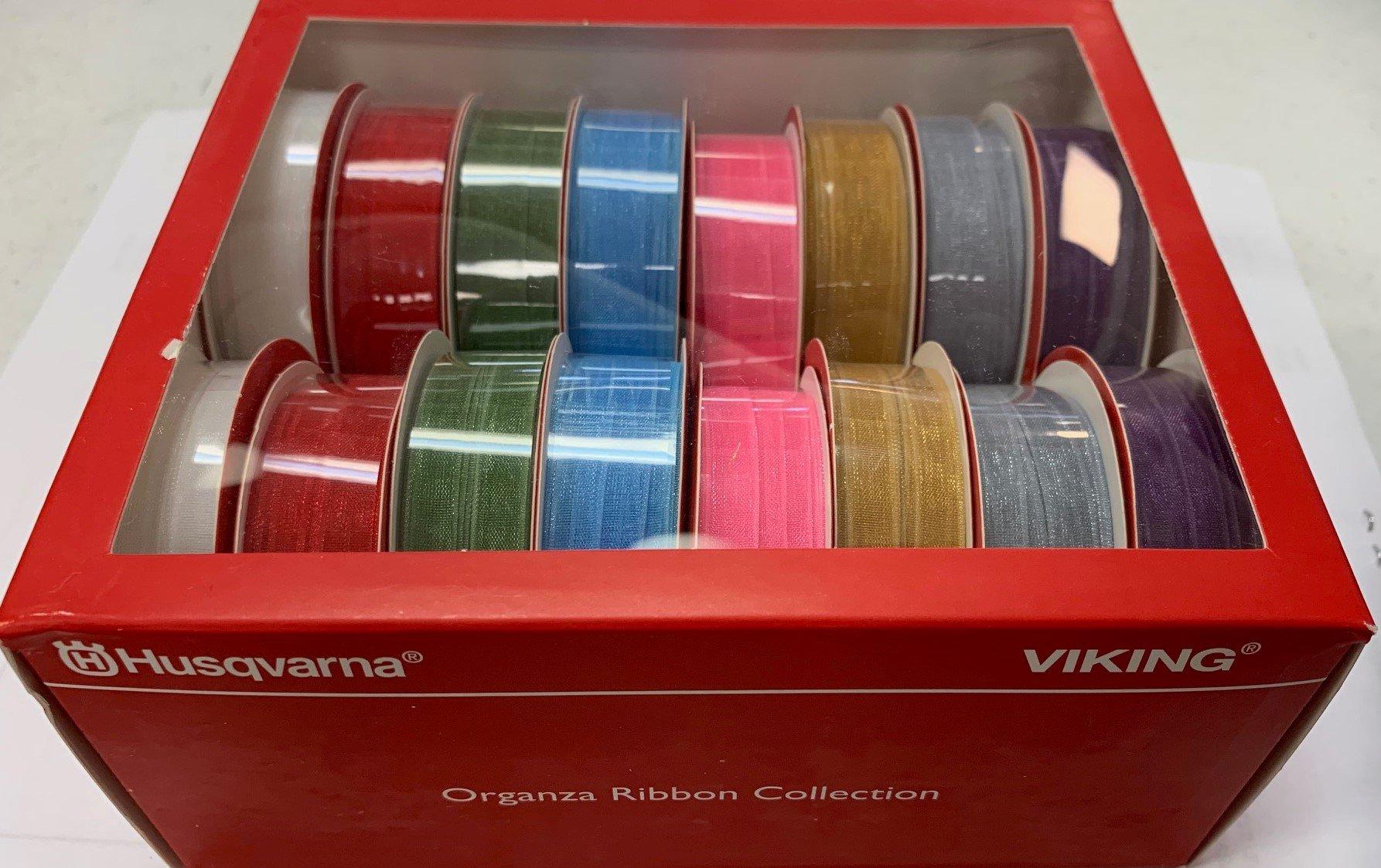 Organza Ribbon Collection