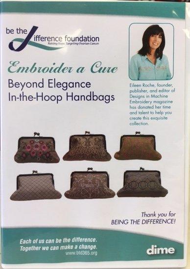 Embroider A Cure Beyond Elegance In The Hoop Handbags 7252