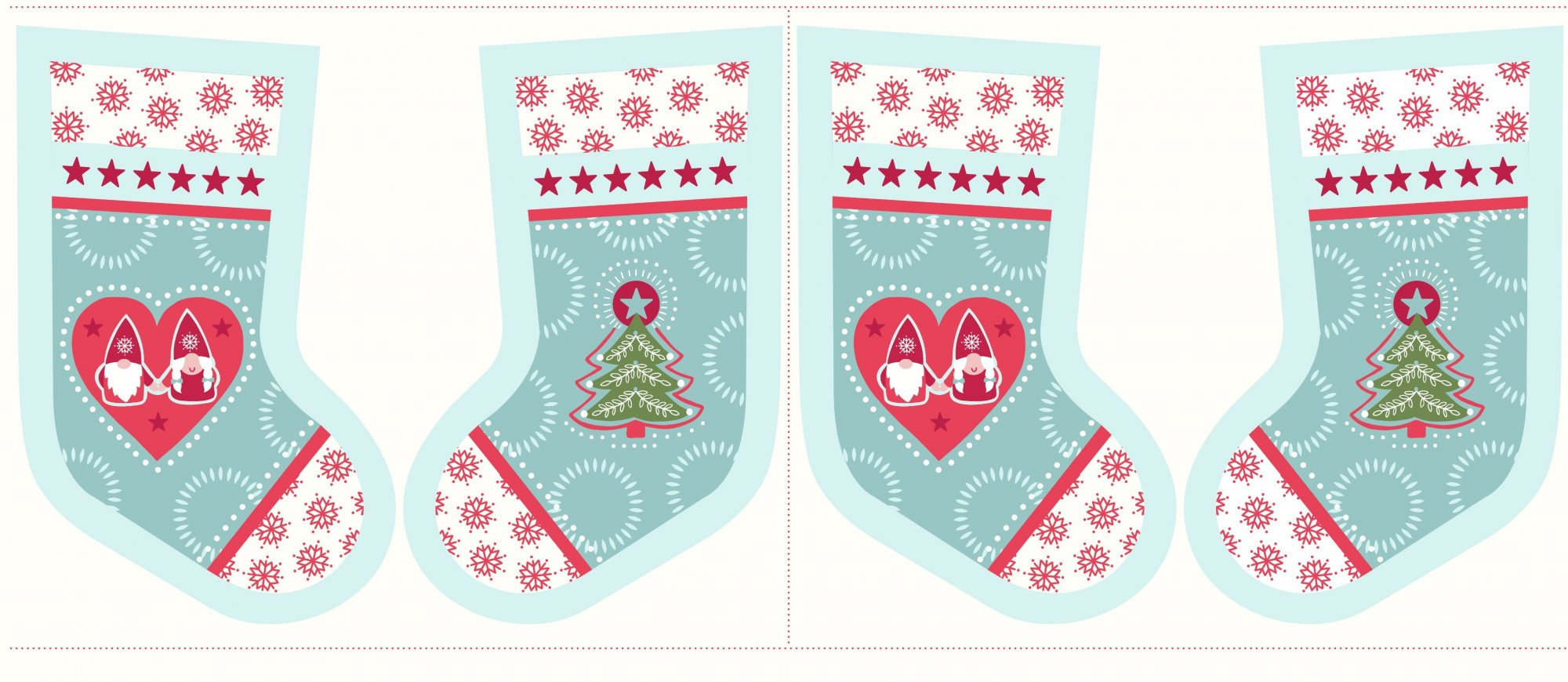 Stocking Hygge - Icy Blue