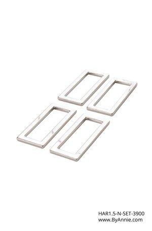 Hardware Set 3900 - 1-1/2in Nickel