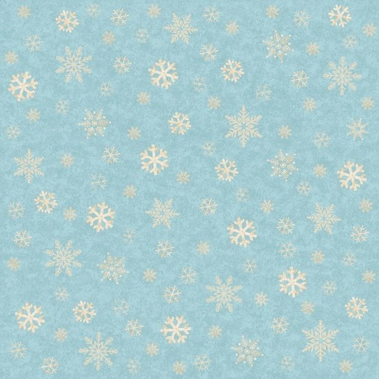 Snowflakes on Blue, A Time of Wonder