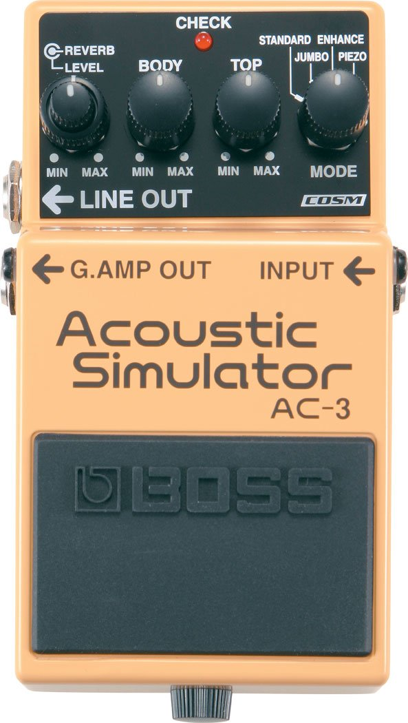 BOSS AC3 ACOUSTIC SIMULATOR