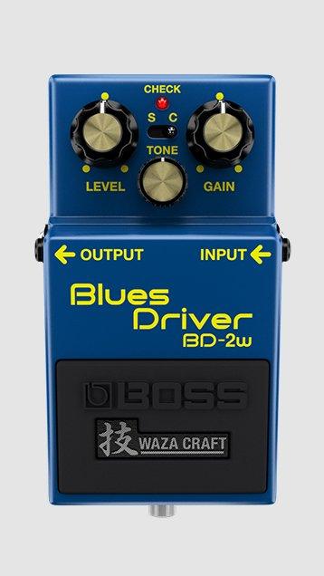 BOSS BD-2W WAZA BLUES DRIVER