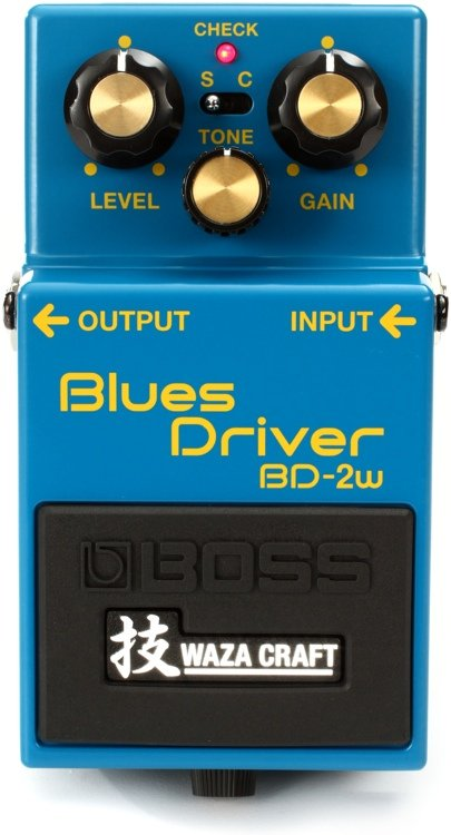 BOSS BLUES DRIVER BD2W WAZA