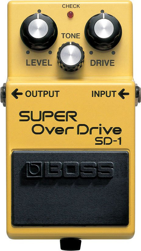 BOSS SUPER OVERDRIVE SD1