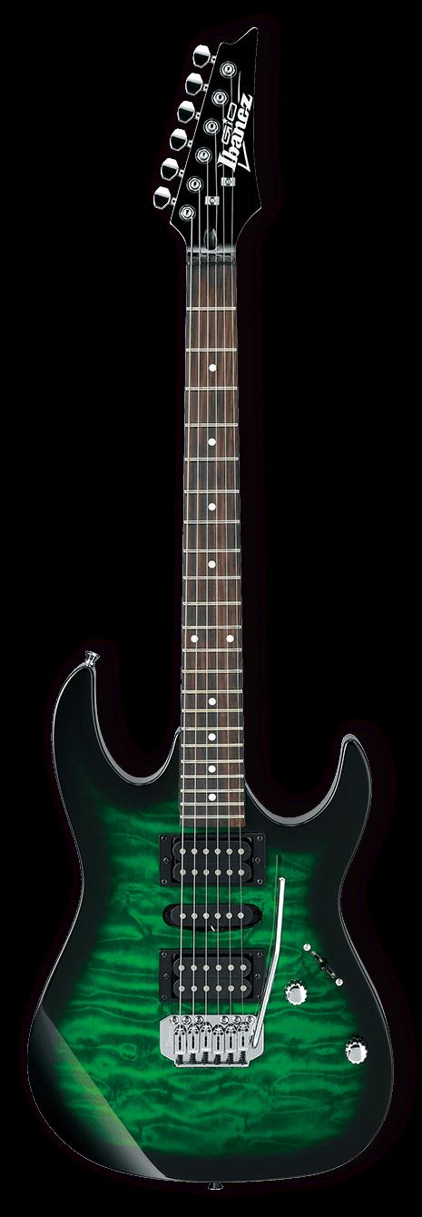 Ibanez GRX70QA Emerald Green