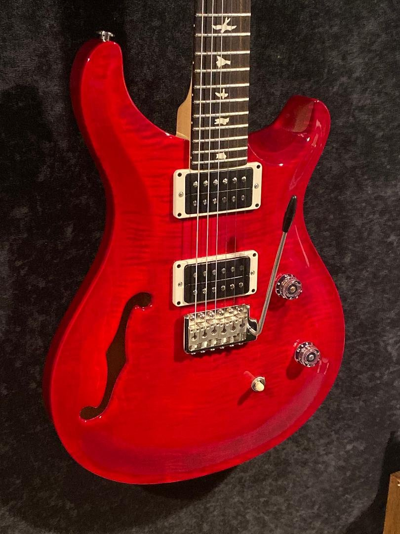 PRS CE24 Semi-Hollow Scarlet Red 6lb's 15.4oz's