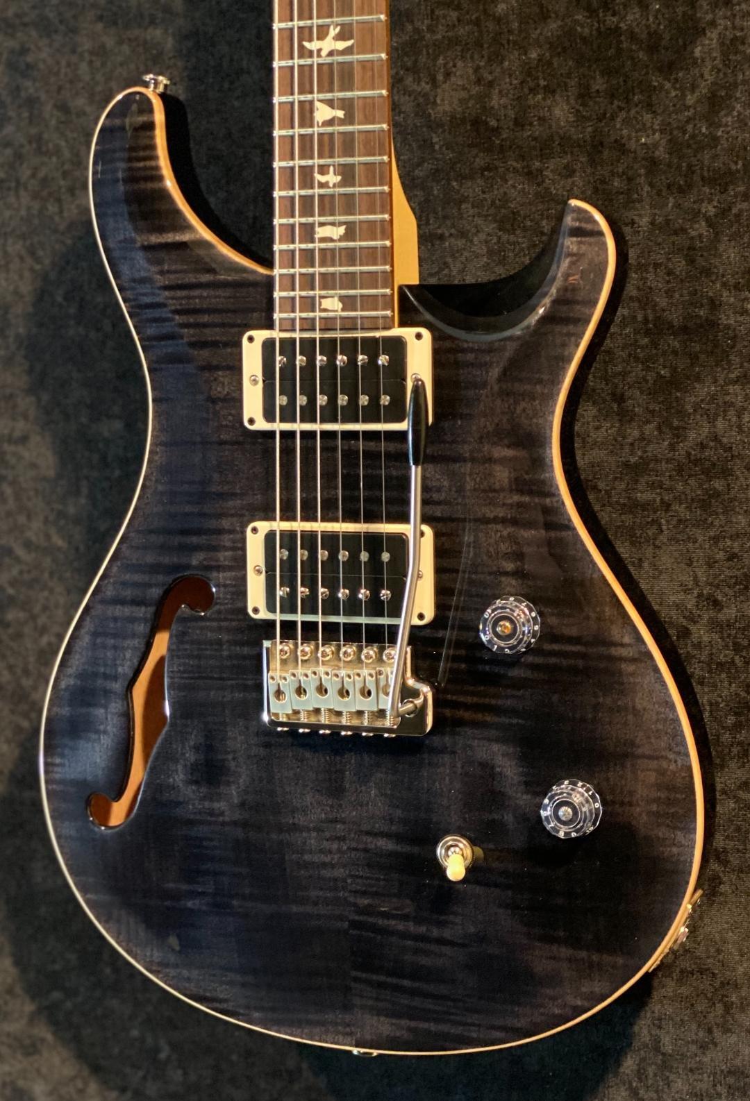 PRS CE24 Semi-Hollow Gray Black