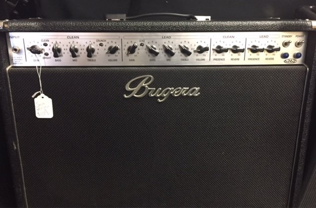 Bugera 6262 Used Tube amp / 2 x 12's