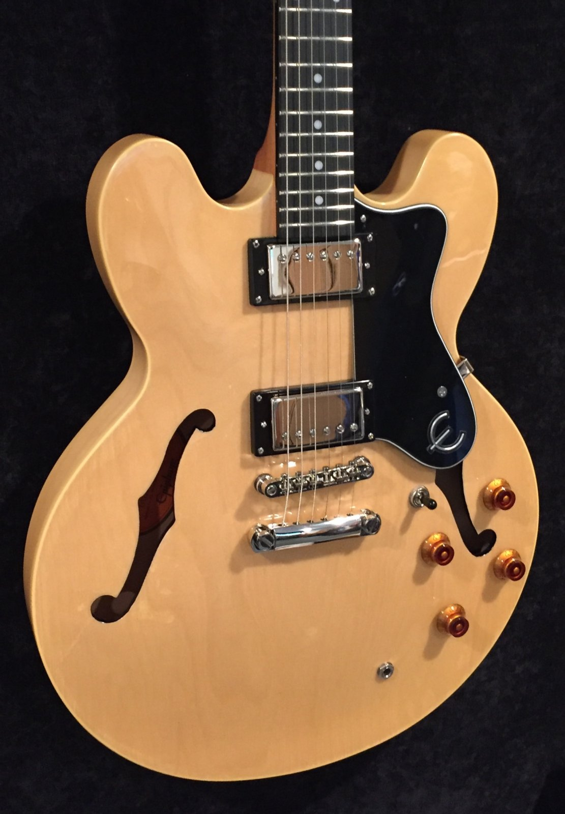Epiphone Dot Natural Pre-Owned Mint Condition
