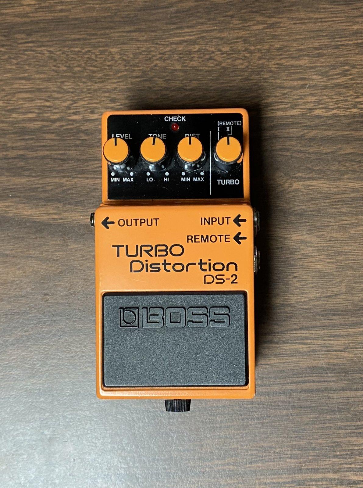 BOSS DS-2 TURBO DISTORTION MIJ - 1987-89