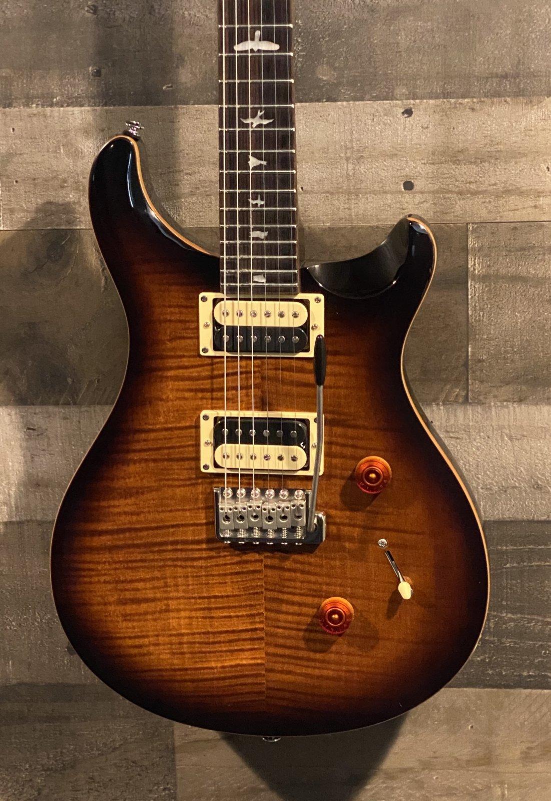PRS SE Custom 24 Black Gold