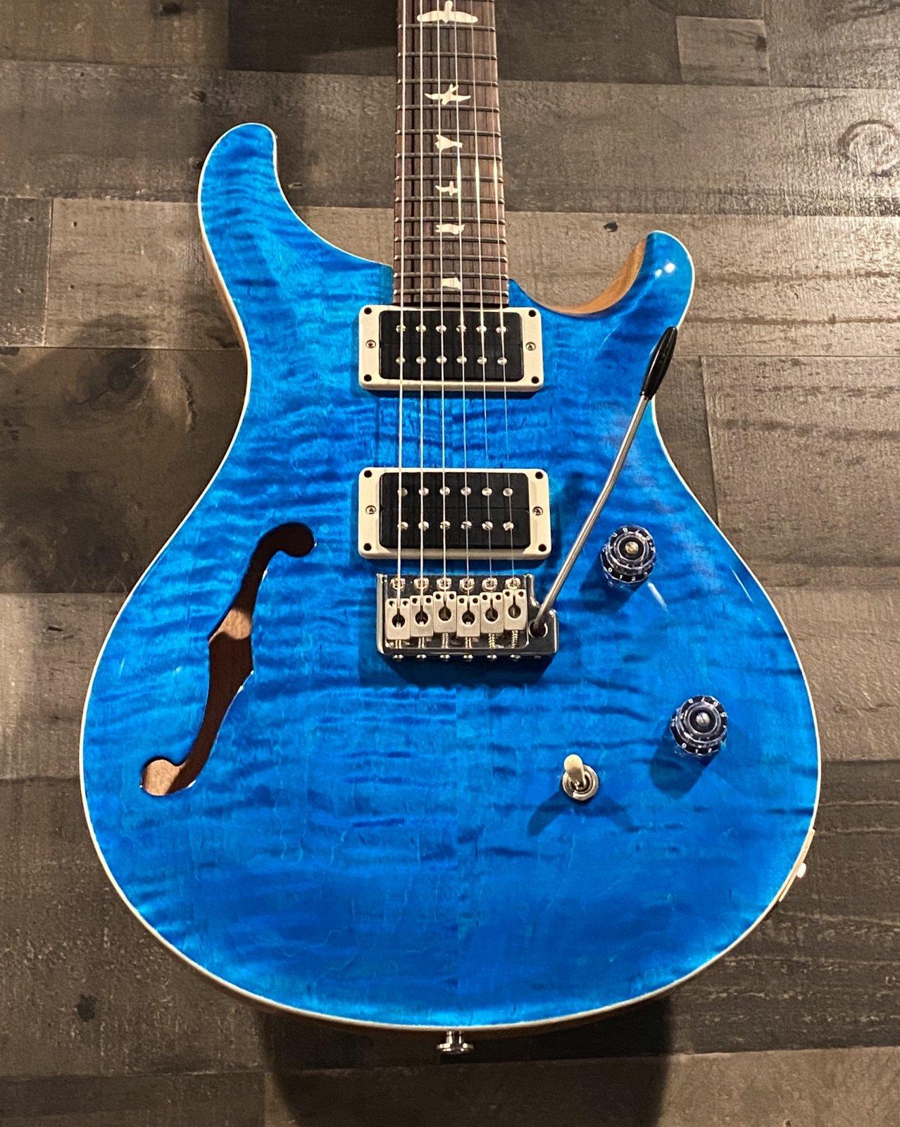 PRS CE24 Semi-Hollow Blue Matteo