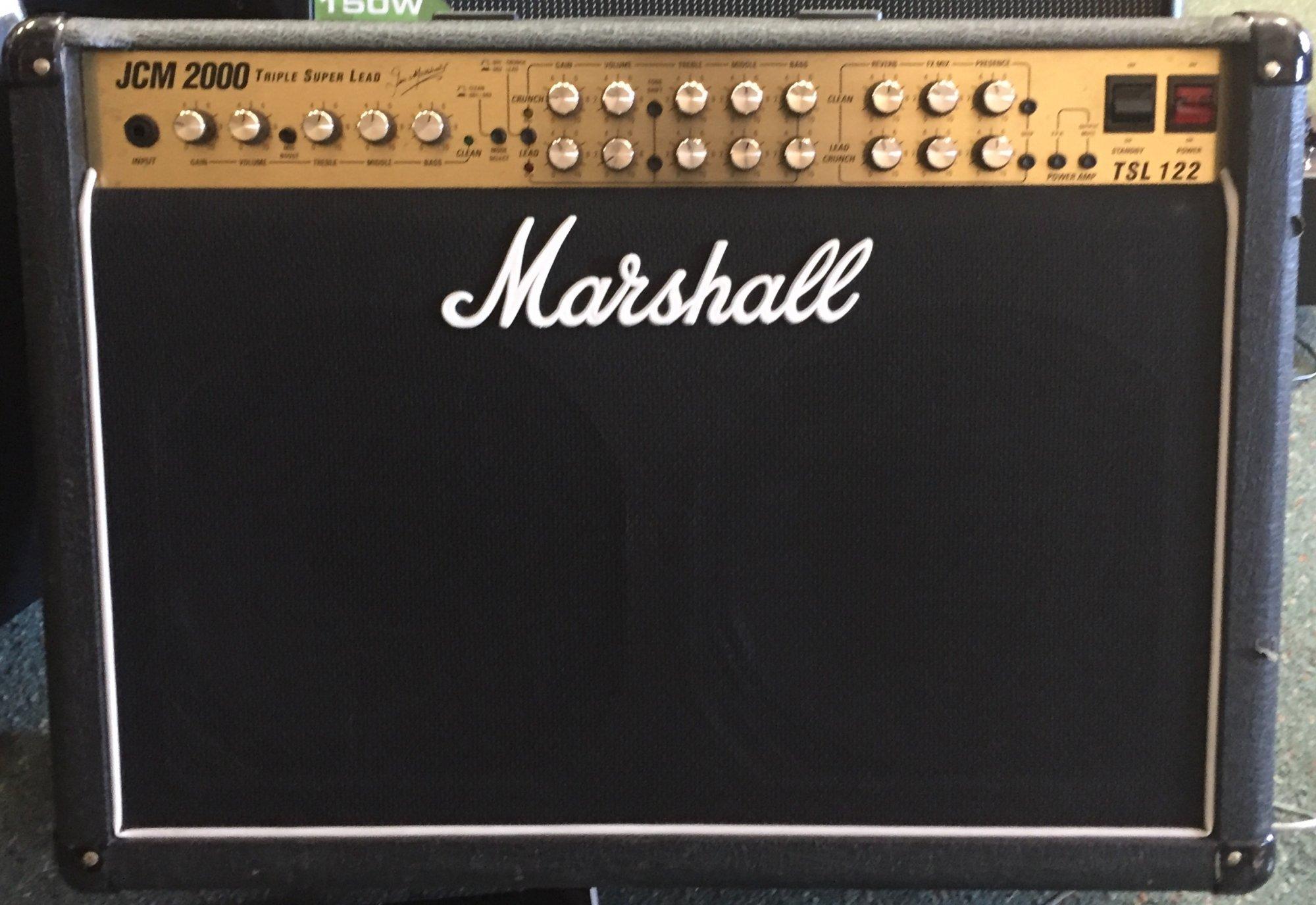MARSHALL TSL 122 USED 2X12 COMBO