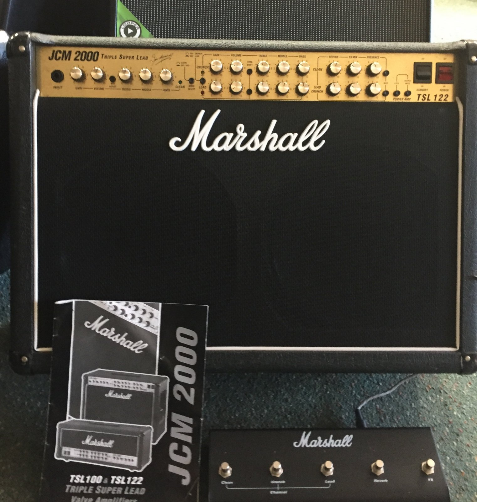 MARSHALL JCM2000 TSL122 USED 3 CH 2X12 COMBO