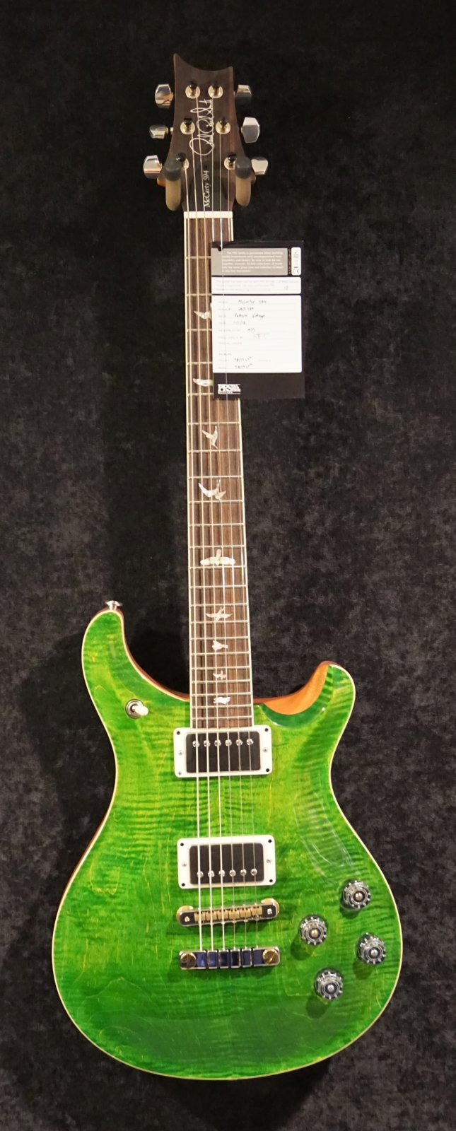 PRS McCarty 594 Emerald Green